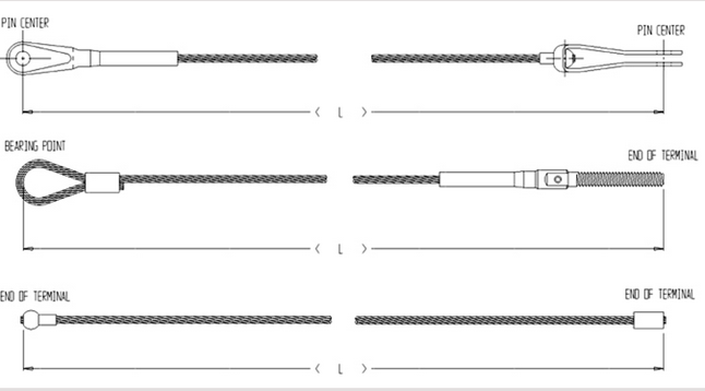 measuring cable assembly